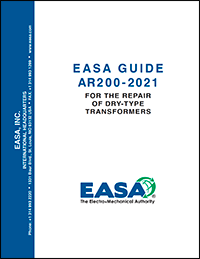 EASA AR200: Guide For The Repair Of Dry-Type Transformers
