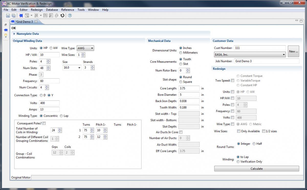 Ac Motor Verification Redesign