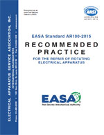 ANSI/EASA AR100-2015 cover